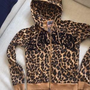 L.A.M.B. Leopard Hoodie